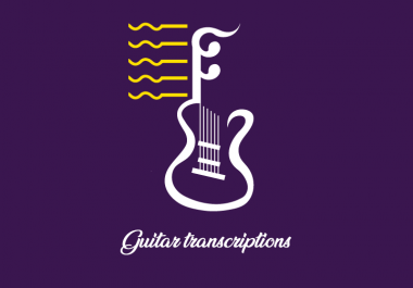 Best Guitar Transcription Service on AirGigs