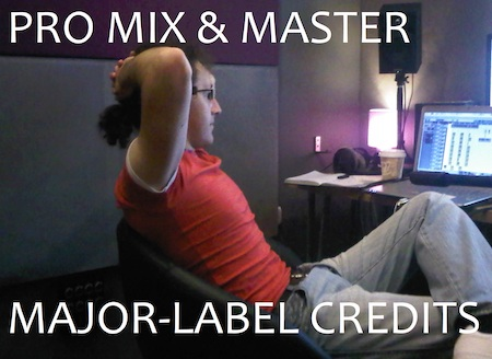 MIX & MASTER, MAJOR LABEL CREDITS (SONY/EPIC, AVEX TRAX+) *** Free short preview available before you book - contact for details ***