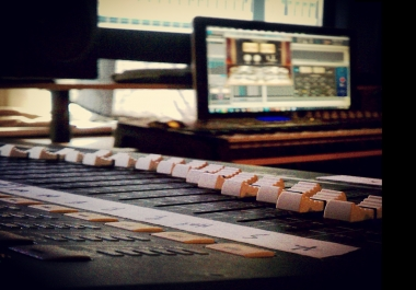 Rap/Hip-Hop/Trap/Urban Song MIXED and MASTERED Professionally and Quickly