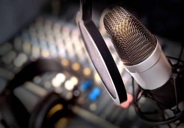 Audio Restoration, Audio Repair, Audio Editing