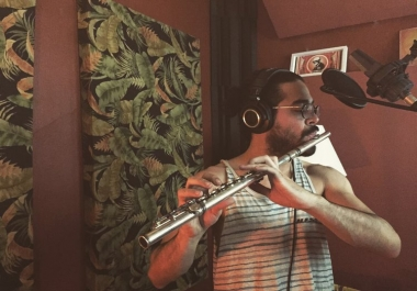 record anything on the flute or sax