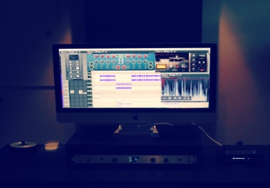 Vocals Mixed & Mastered to a  Instrumental (perfect for mixtape or demo)