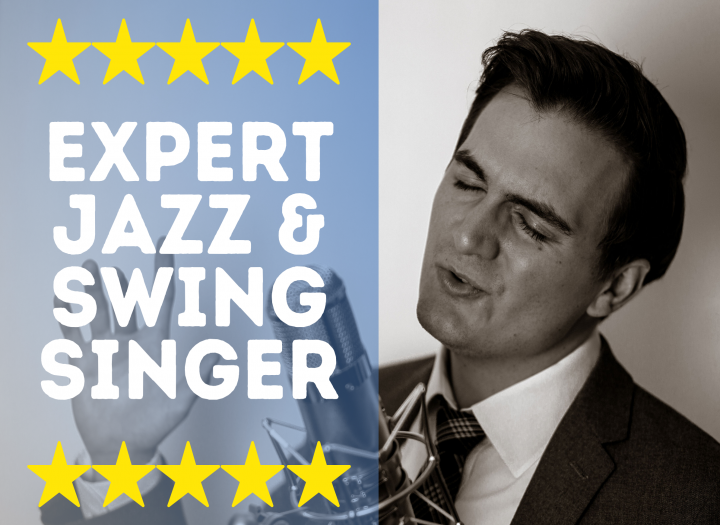 Expert Male Vintage Jazz Swing Vocals in the style of Sinatra, Buble etc