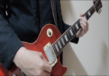 Customized Lead and Rhythm Guitar Parts