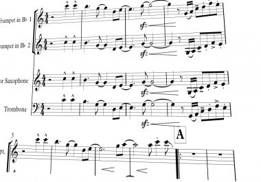 Horn section transcriptions