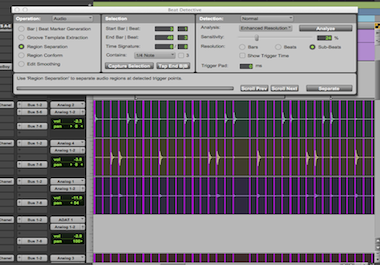 Drum Editing with Beat Detective and Elastic Audio