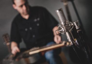 I will record a great dobro slide or banjo track