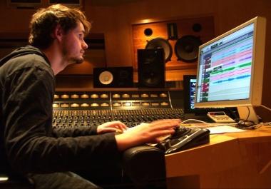 Grammy Winning Multi-Platinum Engineer can Master your single tracks Cheap!