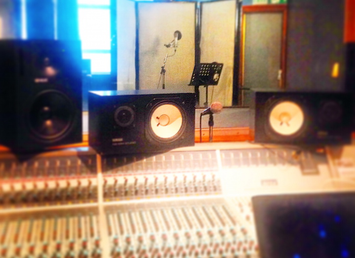 Backing Vocals In a professional studio