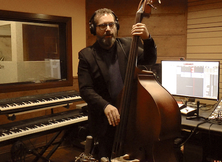 Upright bass or double bass
