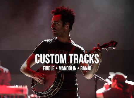 CMA Award-winning Fiddle, Mandolin, or Banjo tracking